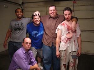 L to R - Jamel, Jon (kneeling), Joe, Dusty & Chris