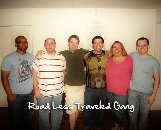 L to R: Jamel Singleton, Jon Jensen, Chris Carlson, Joe Holt, Melissa Carlson, Patrick Barrett