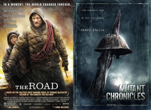 The Road & Mutant Chronicles Posters
